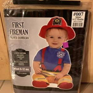Other - New in package-Infant's Fireman costume.